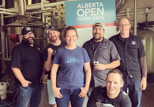Alberta craft brewers