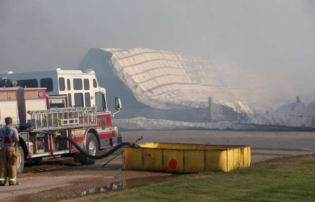 dairy barn fire