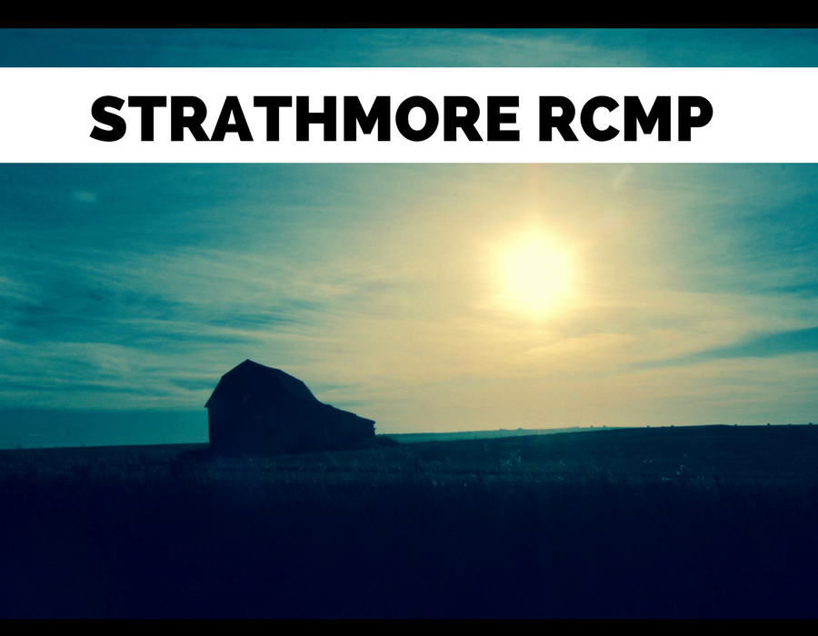 """Strathmore RCMP – Search warrant on suspected """"Chop Shop"""