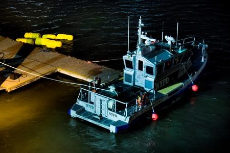 Helicopter crashes into the East River in New York City