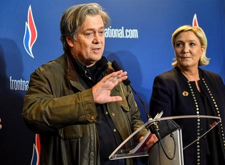 National Front leader Marine Le Pen reveals proposed new name for party