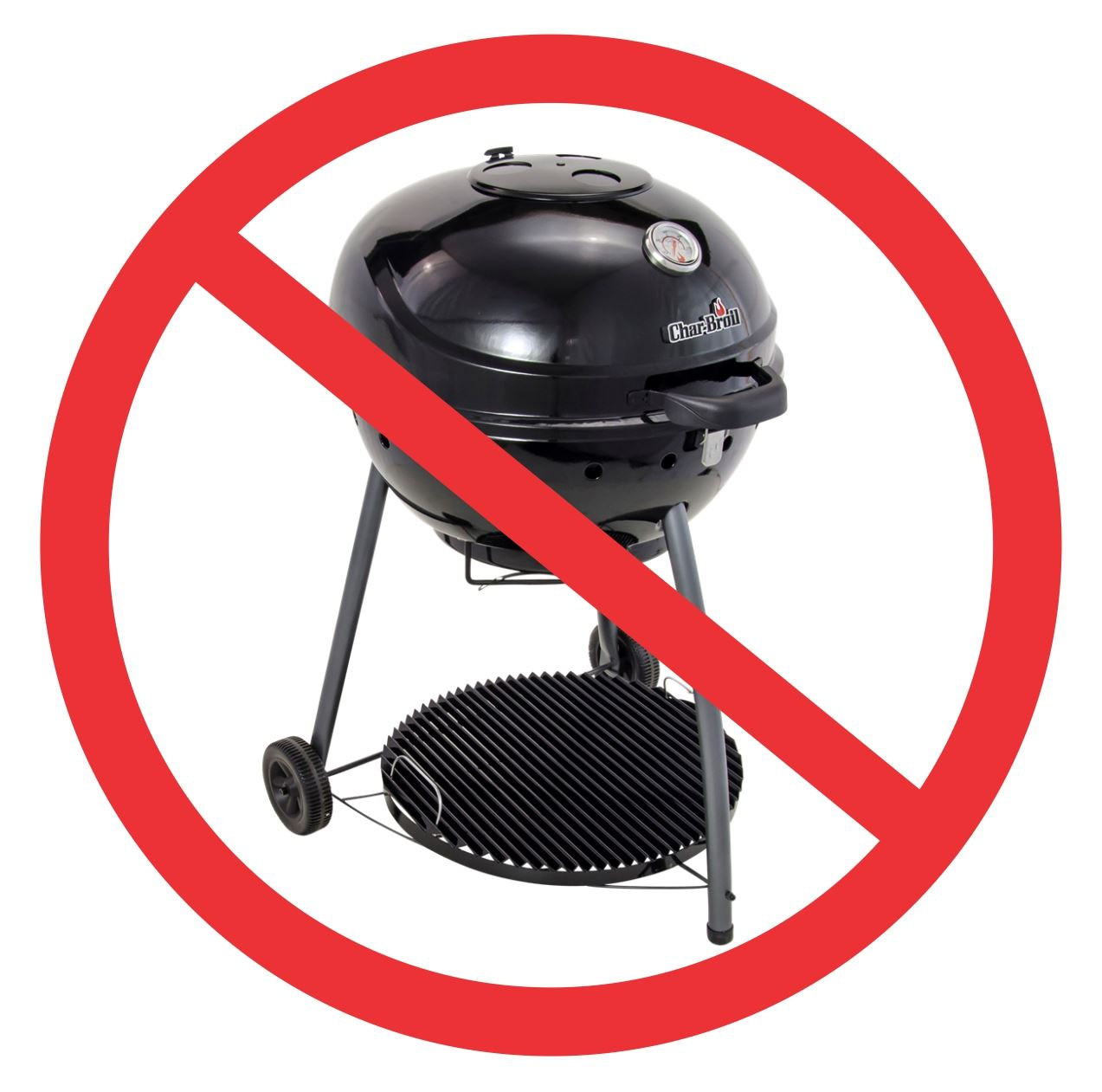 Charcoal grills restricted within all Sylvan Lake Town Parks