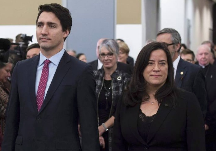 Justin Trudeau and Jody Wilson-Raybould