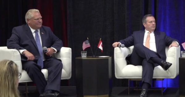 Alberta and Ontario Premiers team up to school USA on importance of Canadian Energy