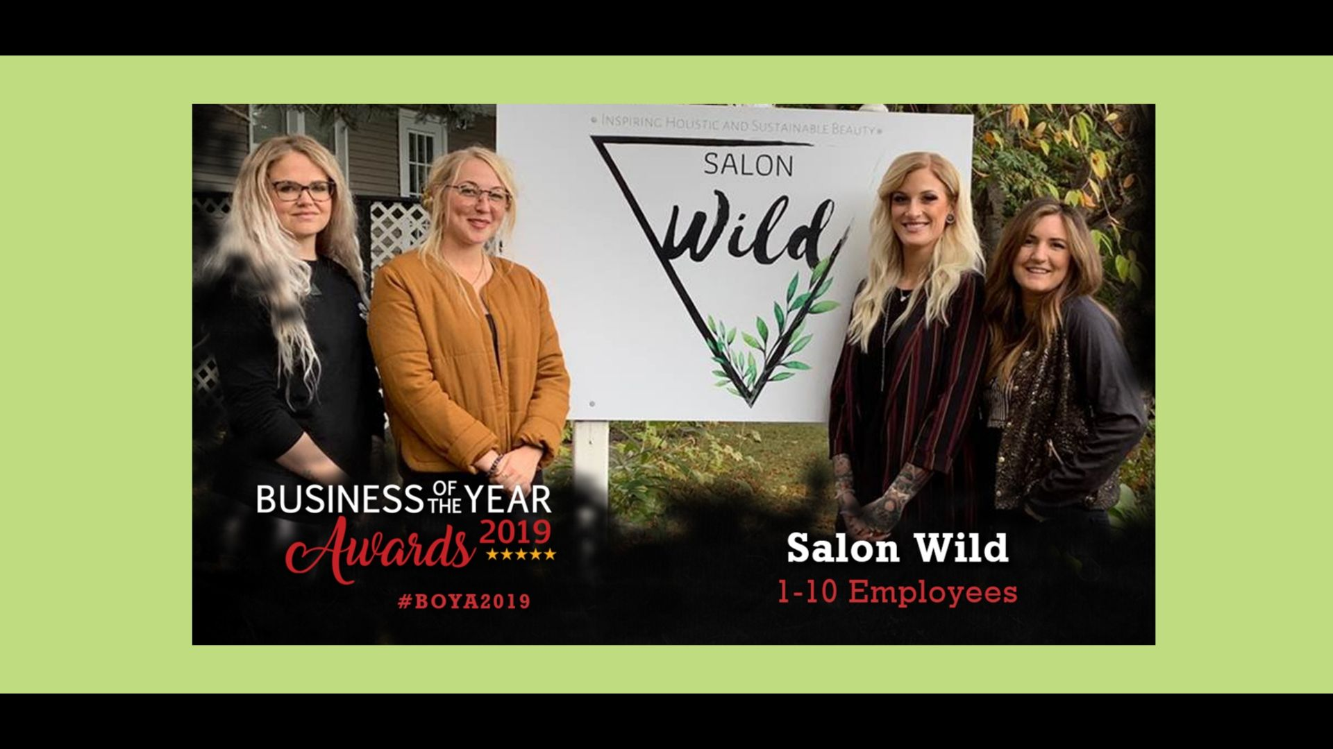 Salon Wild staff