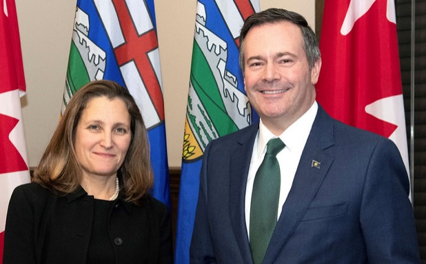 Chrystia Freeland, Jason Kenney
