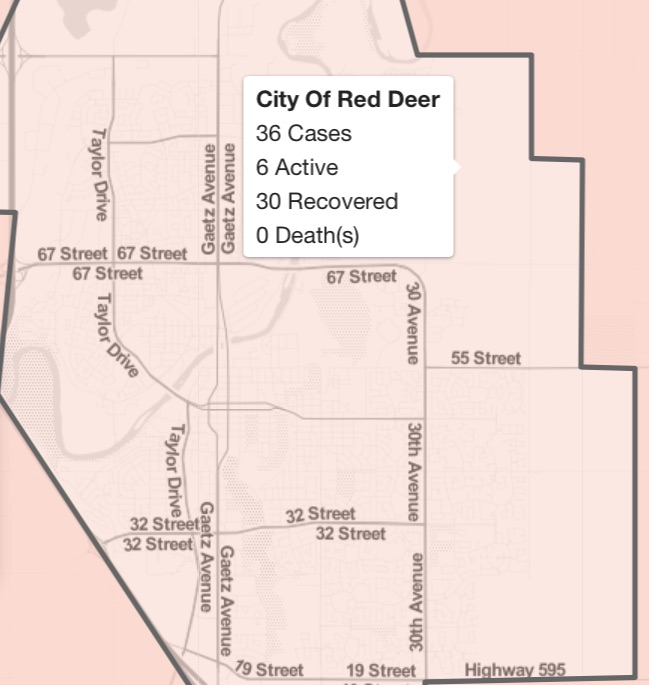 New Covid 19 Cases In Red Deer And Red Deer County Covid 19 Update Todayville
