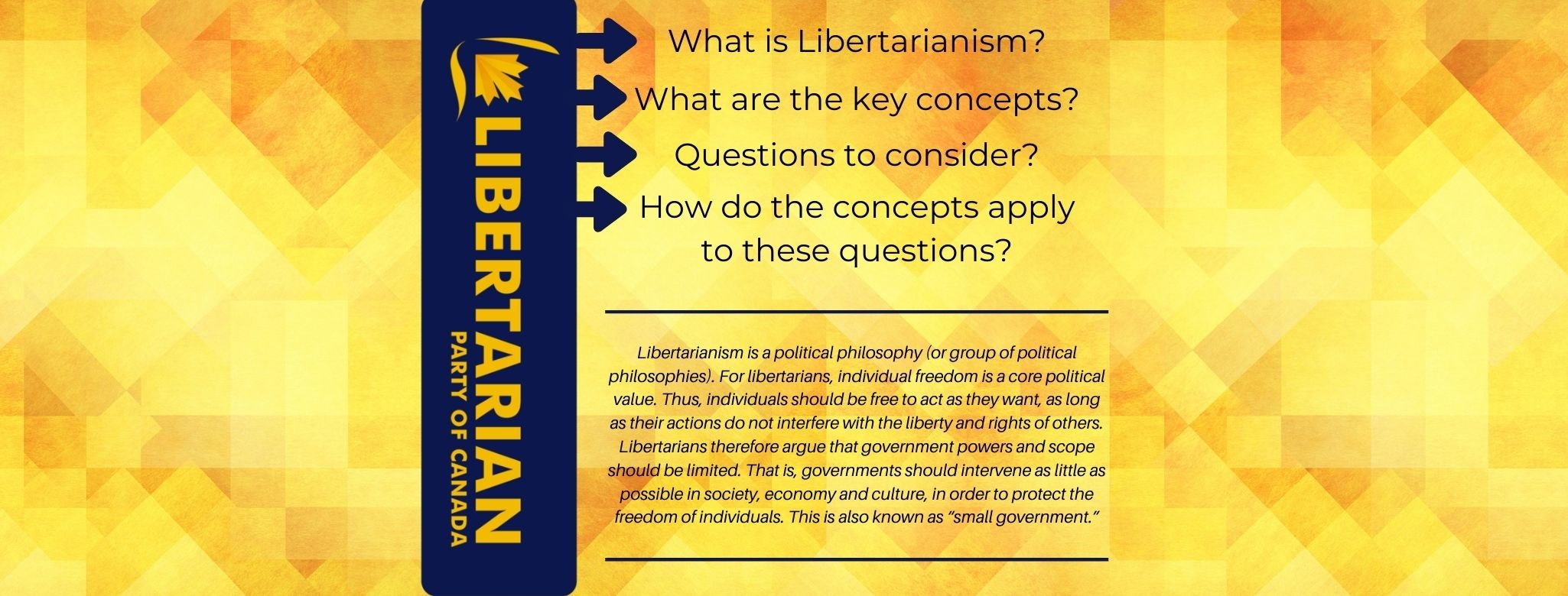 What is Libertarianism